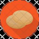 Cookies Plain Cookies Biscuits Icon