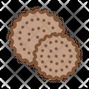 Cookies Breakfast Snack Icon