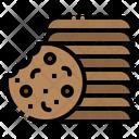 Cookies Chocolate Food Icon