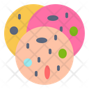 Cookies Bread Candy Icon