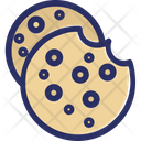 Cookies Chip Sweet Icon