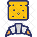 Cookies Biscuit Croissant Icon