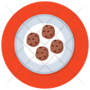 Cookies Chocolate Cookies Biscuits Icon