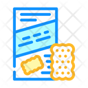 Cookies Chips Snack Icon