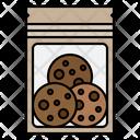 Cookies Bag Cookies Zip Lock Icon