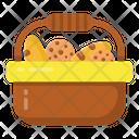 Cookies Breakfast Basket Cookies Basket Icon