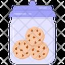Cookies Container Cookies Jar Biscuits Jar Icon