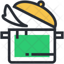Cooking Food Pan Icon