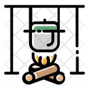 Cooking Beverage Camping Icon