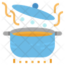 Boil Pot Cooking Icon