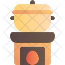 Cook Traditional Fire Icon