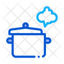 Cooking Odor Breathing Icon