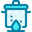 Pot Cooking Boiling Icon