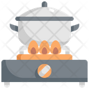 Pot Gas Stove Icon