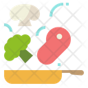 Cooking Healthy Food Icon