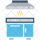 Cooking Range Burner Icon