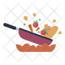 Pan Ingredients Meal Icon