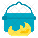 Pot Camping Cooking Adventure Icon