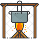 Cooking Pot Fire Icon