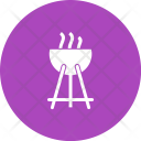 Outdoor Cooking Grill Icon