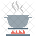 Cooking Pot Stove Icon