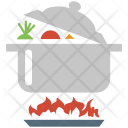 Cooking Stove Fire Icon