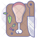 Knife Meat Cook Icon