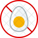 Cooking Egg Allergy Icon