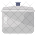 Cooking Pot Kitchen Utensil Cookware Icon