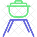 Cooking Pot Hotpot Hotpot On Stove Icon