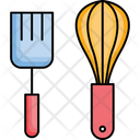Cooking Spoons Cutlery Ladle Icon