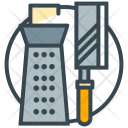 Cooking Utensils Grater Icon