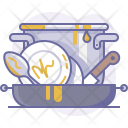 Cookware Dirty Dishes Icon