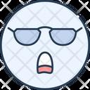 Emoji Cool Icon