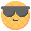 Cool Glases Smileys Icon