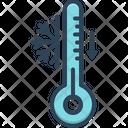 Cool Temperature Thermometer Icon