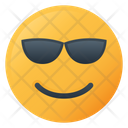 Cool Face Emoji Icon