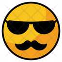 Cool Grateful Face Icon