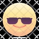 Cool Emoji Smiley Icon