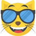 Cool Cat Emoji Icon