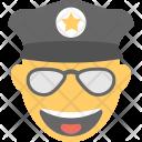 Cool Emoji Laughing Icon