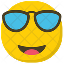 Cool Emoji Sunglasses Emoji Emoticon Icon