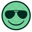 COOL FACE SMILEY Icon