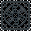 Cooler Ventilate Proceesor Icon