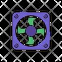 Cooler Fan Appliance Icon