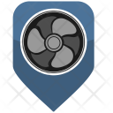 Cooler Air Ventilation Icon