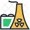 Cooling Tower Nuclear Icon