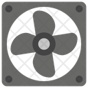 Cooling Agent Cooling Fan Heat Prevention Icon