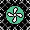 Fan Cooling Ventilator Icon