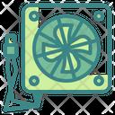 Cooling Fan Fan Card Icon